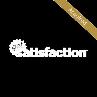 Logo for Get Satisfaction