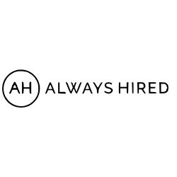 Logo for Always Hired