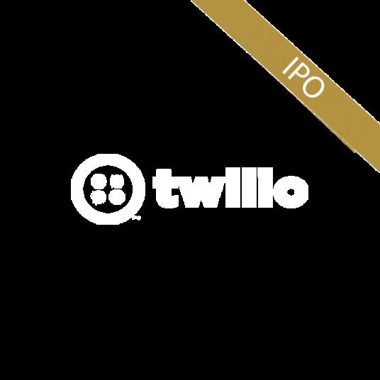 Logo for Twilio